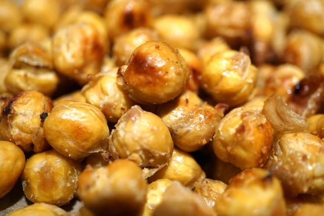 Salt & Vinegar Roasted Chickpeas