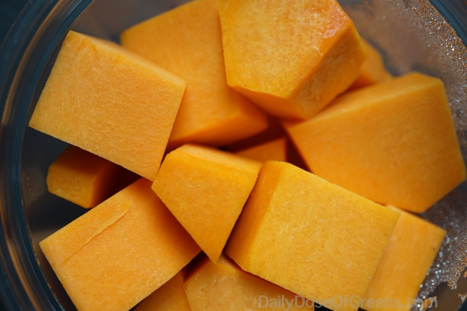 Butternut squash the way God intended it -- peeled, cubed, and packaged for your convenience