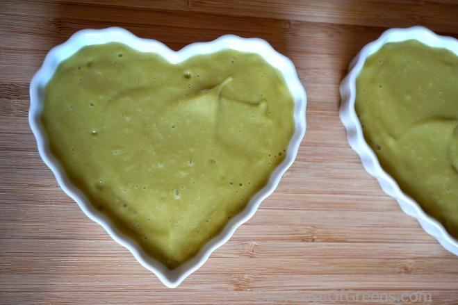 vanilla avocado custard